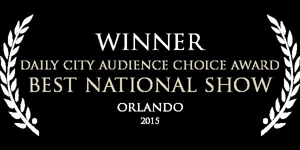 Grim and Fischer by WONDERHEADS; 2015 Orlando Daily City Award - Best Show